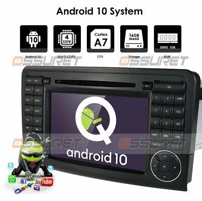 DAB+ Autoradio GPS DVD Navi Für Mercedes ML/GL Klasse W164 X164 DTV 3G BT Mirror