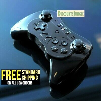 Wii U Pro Controller Wireless Bluetooth Joystick Gamepad Android Console Games