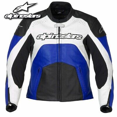 Alpinestars Stella GP Plus Ladies Leather Motorcycle Motorbike Jacket Summer 44
