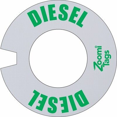 Zoomitags Gas Can Id Tag Diesel Auto Truck Fuel Storage Container Zoomitag Label
