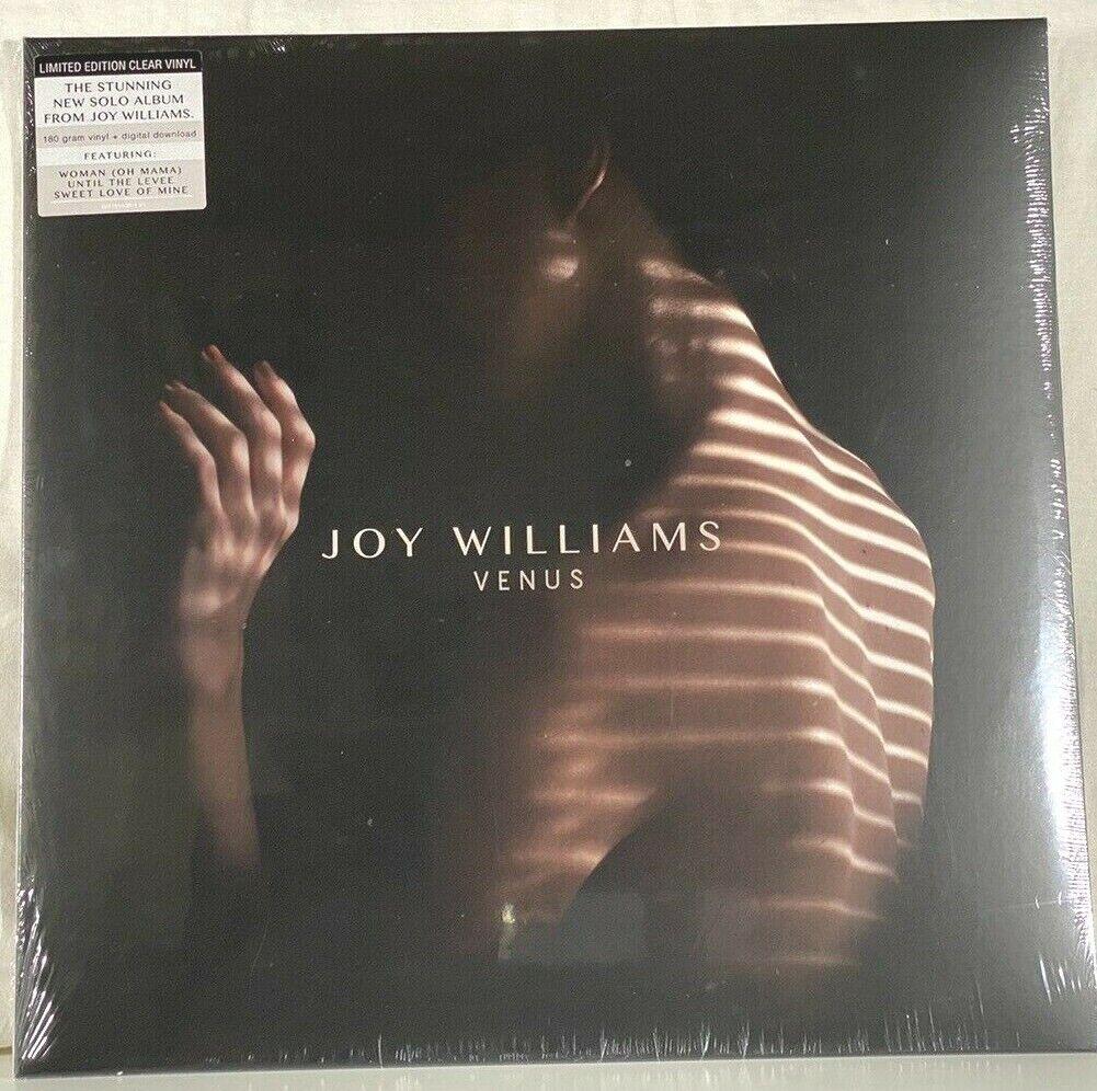 JOY WILLIAMS VENUS THE CIVIL WARS LTD EDITION CLEAR VINYL 180g SEALED - $28.00