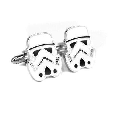 Star Wars Storm Trooper Metal Cufflinks