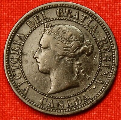 1876 H CANADA LARGE CENT PENNY GREAT COLLECTOR COIN GIFT   $ CALC60