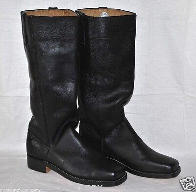 Stove Pipe Boots - Sizes 8-13 - Black Leather - L@@K!!