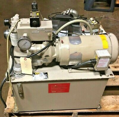 Parker Hydraulic Pump And Tank System 14 Gallon Tank Pu721335n4014183g1