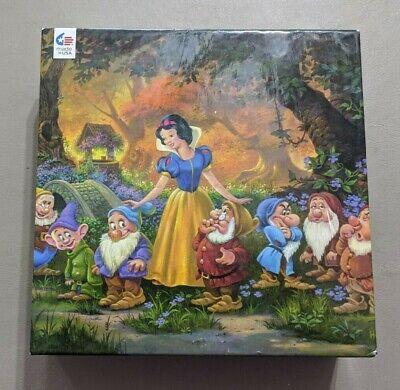 """Ceaco 1000 PC Puzzle/Disney/Snow White & The 7 Dwarfs/""""Among Friends"""" COMPLETE!"""