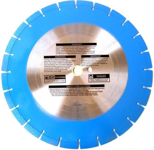 14 inch Diamond blade bonded for concrete pipe, masonry and stone