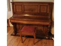 Amazing Antique Upright Piano