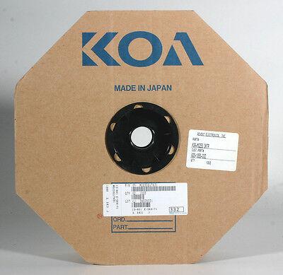 Koa Tape Reel Resistors - 3.3k 1 Watt 1000 Resistors On Reel