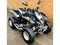 Quad bike QUADZILLA ROAD LEGAL 300cc 2006 CAN DELIVER ANYWHERE PART EX OFFERS EXT WELCOME HONDA KAWA