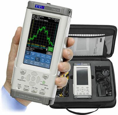 Tti Psa2702usc Handheld 2.7ghz Spectrum Analyzer Sc Kit And U01