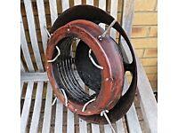 Metal chimney cowling