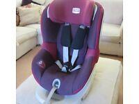 Britax Dualfix car seat front/rear facing rotation 0-18kg RRP £323