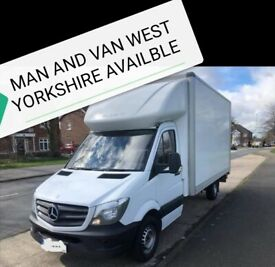 MAN AND VAN SHORT NOTICE LOCAL AND LONG DISTANCE SERVICE