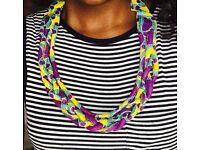 Handmade African maasai necklaces