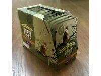 James Wellbeloved senior wet cat food pouches x 13