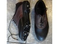 SPIKES GOLF SHOES - CLASSIC HITEC BIRKDALE SIZE 5 / EURO 38