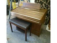 Yamaha 'Electro Chord Bass II' electric organ and chair