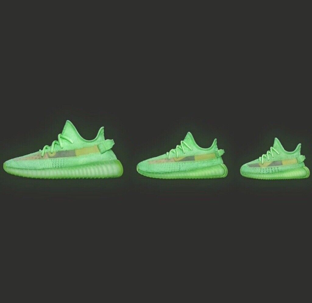 4d032f8248e YEEZY BOOST 350 V2 GID (GLOWS IN DARK) BRAND NEW AND WITH RECEIPT   in  Stratford, London   Gumtree