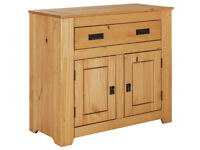 Penton 2 Door 1 Drawer 1 Shelf Sideboard - Oak Effect
