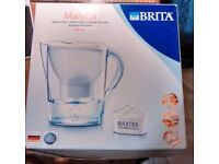 Brita Marella Water filter with 2 unopened filter cartridges