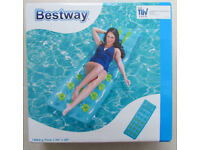 Bestway inflatable mattress, new in sealed box