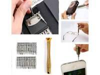 25 in 1 screwdrivers set tools NEW