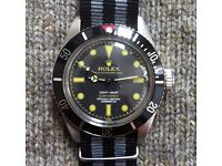 Vintage Rolex Submariner James Bond 1950s 1960s (ref. 6538 and 5508)