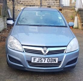 VAUXHALL ASTRA 1.7 CDTi CLUB 2007 - GREY - DIESEL HATCHBACK - VERY ECONOMICAL - EXCELLENT RUNNER