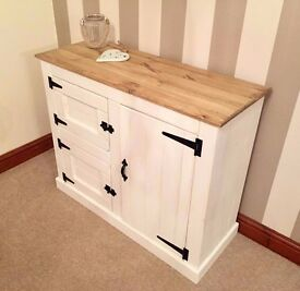***Rustic Country Shabby Chic Pine Sideboard***ONLY £119***