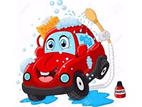 CAR WASHER VALETER REQUIRED