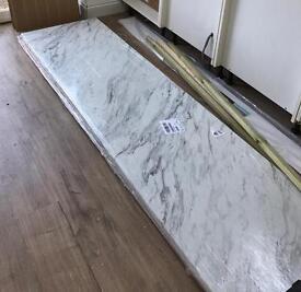 Wickes Calcutta Marble laminate worktop
