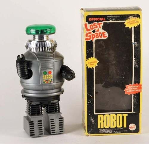 1977 Ahi Lost in Space Battery Operated Robot In Box!!!!