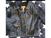 Denim GAP jacket girl 12-18 months