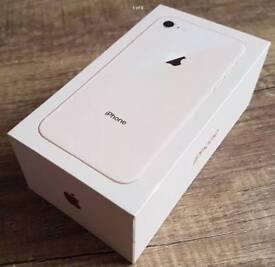 Apple IPhone 8 Plus Box gold 256gb Genuine BOX ONLY £13