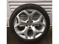 2012 BMW All Models X5 - 6 772 250 - Alloy Wheel And Tyre (Single Wheel)