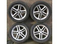 Set 4 MOMO 16-inch Alloy Wheels, KBA 43297, 7.5J, Mitsubishi Eclipse?