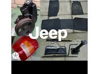 Jeep cherokee xj and wj spares shed clear out