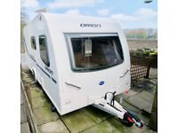 Bailey Orion 430-4. Four berth caravan with motor mover and accessories.
