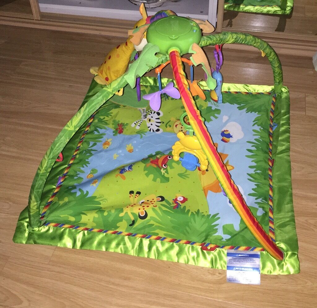 Fisher Price Rainforest Play Mat Gym In Southside