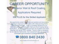 Career Opportunity - Wall and Roof Coating Applicators