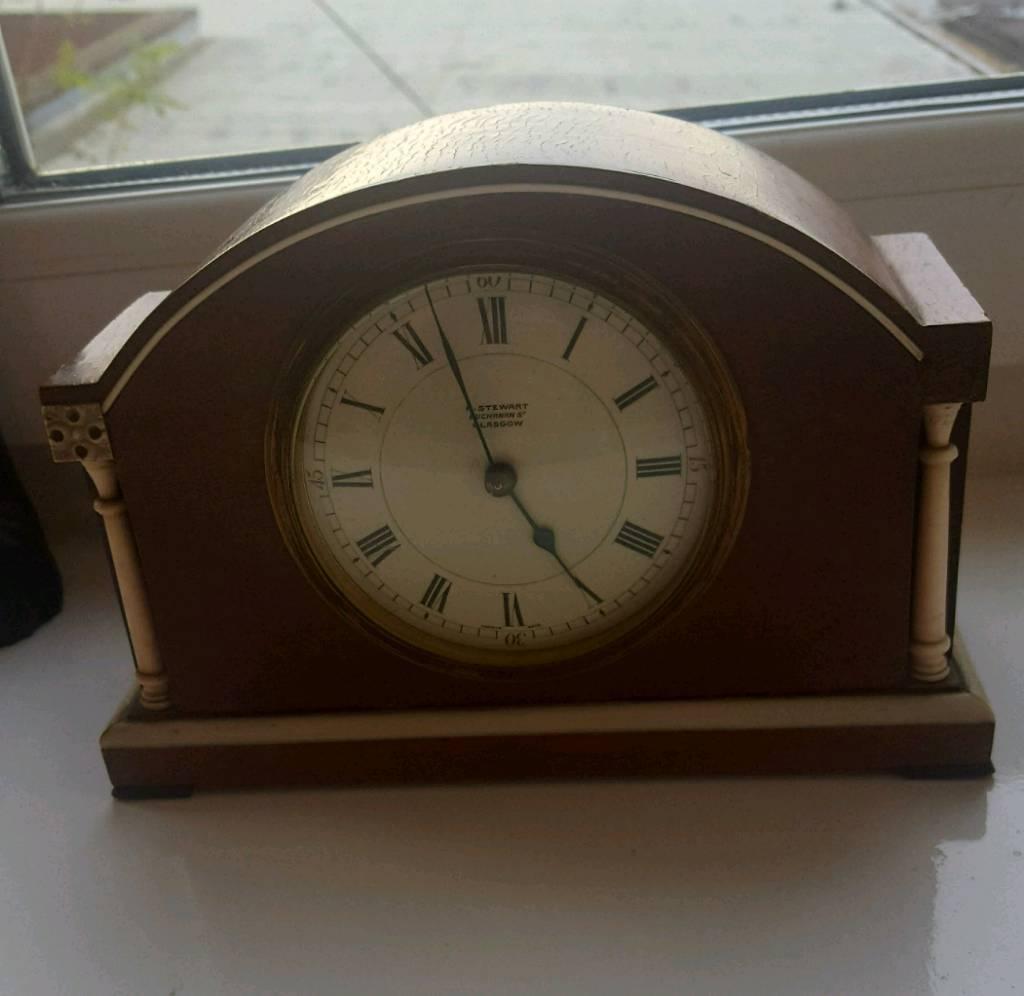 premier antique r stewart buchanan st glasgow clock in hanham