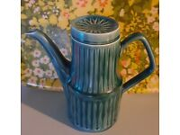 Sadler 1960s vintage coffee pot