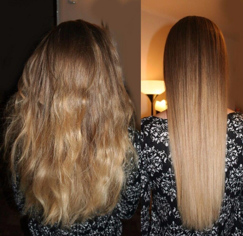 Brazilian Keratin Blow Dry Treatment Hair Straightening In