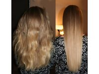 Brazilian keratin blow dry treatment - Hair straightening