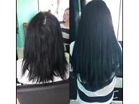 Hair extensions micro weft / nano / micro rings. Mobile service SALE