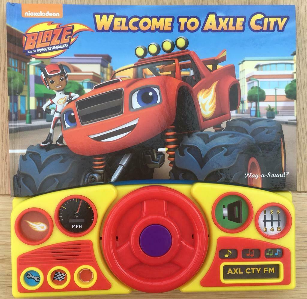 Blaze and monster machines noise book | in Barton on Sea, Hampshire |  Gumtree