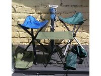 folding hiking/camping/fishing stools, new