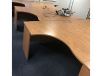 office corner desk Lee Plumpton table Left Angle and right angle available