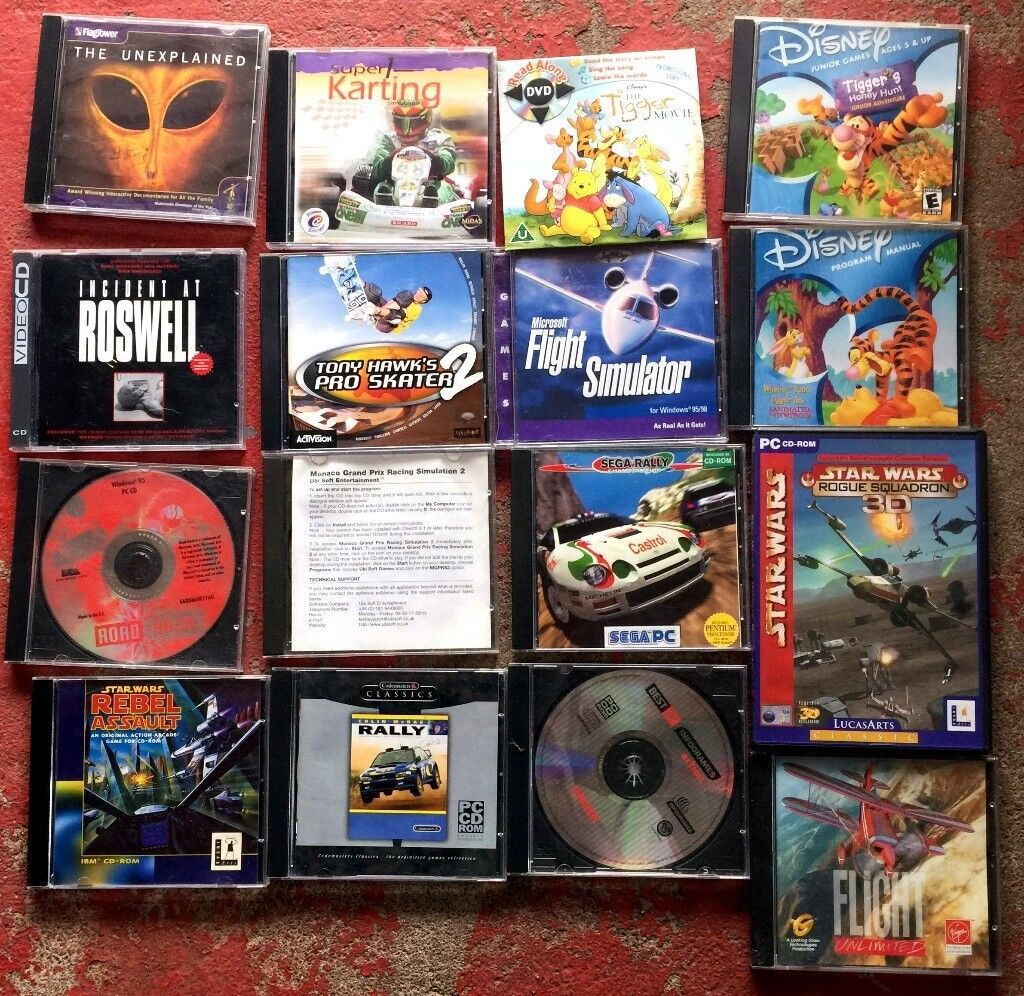 Old PC Games and CD-Roms, Free | in Inverness, Highland